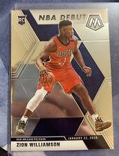 Zion Williamson 2019 Mosaic Rookie Card Base NBA Debut #269 Pelicans RC