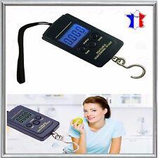 Peson electronique digital Balance Pèse bagage Valise Poisson 40kg 10gr