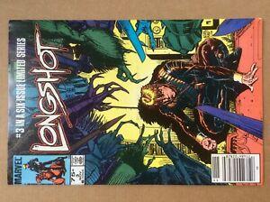 Longshot 3 VF Marvel 1985 Art Adams 1st Mojo And Spyral X-Men Key