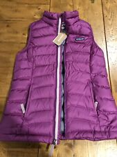 NEW Patagonia Girls Down Sweater Vest Purple L (12)