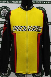 Giacca jacket ciclismo SPECIALIZED TG 4 E855 bike shirt maillot trikot camiseta