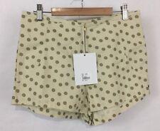 NWT One Teaspoon Women's Polka Dot Paradise Shorts Sz L High Waist Free People