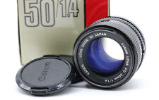 Canon FD 50mm 1:1,4 Objektiv OVP