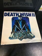 SEALED orig DEATH WISH II soundtrack Charles Bronson Jimmy Page (led zeppelin)LP