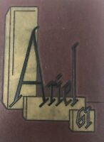 Ariel University of Vermont 1961 Vintage Year Book Very Good Condition