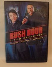 RUSH HOUR, 3 FILM COLLECTION, 3 DISCS, JACKIE CHAN, CHRIS TUCKER