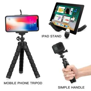 Mini Flexible Sponge Octopus Tripod stand for Mobile Phone Gopro 8 7 5 Camera