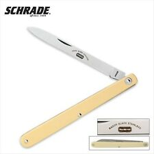 Schrade Imperial SS102 Small Fruit Sampler Yellow Handle
