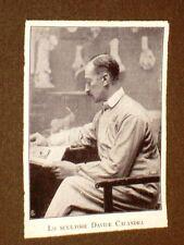 Scultore Davide Calandra Torino, 21 ottobre 1856 – Torino, 8 settembre 1915