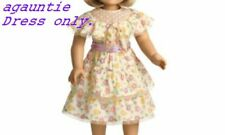 Brand New American Girl KIT SUMMER DRESS Addy Caroline Rebecca Samantha CUTE!!