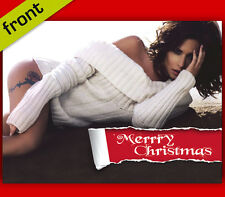 CHERYL COLE No2 Signed Reproduction Autograph CHRISTMAS Card