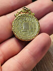 ANTIQUE VICTORIAN 9CT BACK & FRONT LOCKET MOURNING JEWELRY RARE COLLECTIBLE 1880