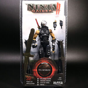 "NECA Ninja Gaiden 2 Ryu Hayabusa 7"" Action Figure PS Game Collection New Sealed"