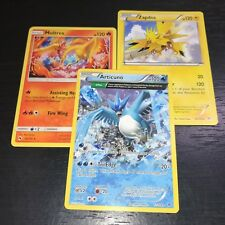 Pokemon Tcg: Articuno + Zapdos + Moltres - 3-Card Legendary Bird Set - Nm