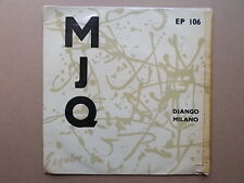 The Modern Jazz Quartet. Django/ Milano.Esquire EP. 106.1954.Orig Tri-Center EP