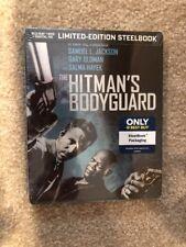 The Hitman's Bodyguard(Bluray+DVD+Digital)Steelbook Bestbuy Exclusive(Brand New)