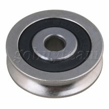 6x30x8mm Bearing Steel Guide Passive Pulley Rail Groove for Idler Wheel