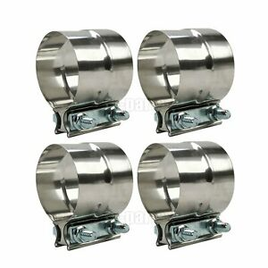 Universal exhaust connector clamp double clamp Ø 50-54 mm L = 90 mm