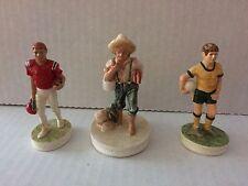 Sebastian Miniatures Jimmy Fund Football Soccer V Ii 4181 2952 3267 Set 3 Smcs