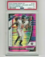 Antonio Gandy-Golden 2020 Prizm Draft Picks RC #167 Liberty PSA 10 Pink Pulsar