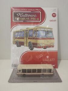 IXO IST LIAZ 677 Kultowe Autobusy PRL-u 1:72 no.77 polish bus