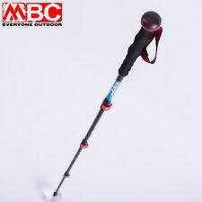 Trekking Hiking Stick Walking Pole 66%Carbon Professional Photography Monopod