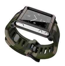 Watch Wrist Band Strap Apple iPod Nano 6G 6th Generation Camo Timepiece LunaTik