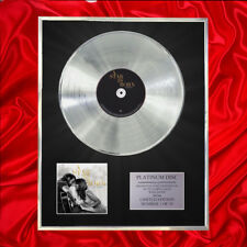 LADY GAGA & BRADLEY COOPER A STAR IS BORN CD PLATINUM DISC VINYL RECORD AWARD