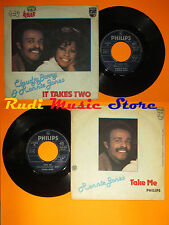 LP 45 7''CLAUDJA BARRY RONNIE JONES It takes two Take me 1977 italy cd mc(*) dvd