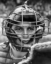 CARLTON FISK IN CATCHERS MASK CLASSIC RED SOX 8x10 GLOSSY PHOTO