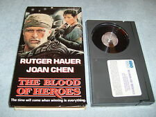 THE BLOOD OF HEROES - (1989, BETA) - RUTGER HAUER / JOAN CHEN