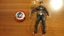 "Marvel Legends Battle Damaged Captain America Civil War from 3 Pack 6"" LOOSE"
