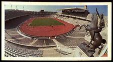 Olympic Challenge 1992 #34 Barcelona Stadium Brooke Bond Tea Card (C277)