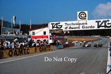 Elio de Angelis JPS Lotus austriaco GP 1982 fotografía 2