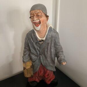 Achatit Clown mit Koffer monogrammiert