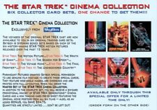 STAR TREK CINEMA COLLECTION 1996 SKYBOX SEND AWAY PROMO CARD T296