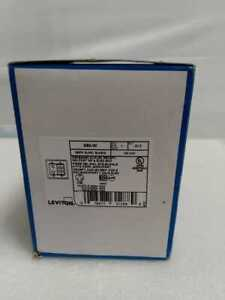 Leviton 690-W Recessed Duplex Receptacle, 125 Vac, 15 A, 2 Pole, 3 Wire, White