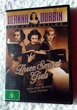 Deanna Durbin - Three Smart Girls (DVD, 2011) REGION-4, LIKE NEW, FREE POSTAGE