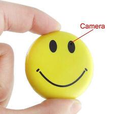 Mini Spy Camera Smile Face Hidden Camera Cam Video Recorder Covert Camcorder Cam