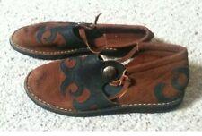 Bald Mountain Handmade Renaissance Faire  sandals 6.5-7 Womans Rare! Lace Up Leg