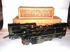 "' Lionel Prewar O Gauge Large ""Cream Stripe"" 260E Loco & Tender! CLEAN! BOXED! P"