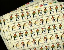 Us Scott 1695-98 1976 Olympics Five Mint Nh Sheets of 50 (Wholesale)