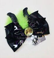 Disney Maleficent Interchangeable Minnie Swap Your Bow Ears Headband