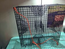 Heavy Duty Shrimp Crab Lobster Cage Crawfish Fish Bait Trap Box Net Fishing Lure