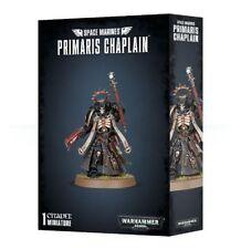 Warhammer 40K - SPACE MARINES PRIMARIS CHAPLAIN - Brand New - Free Shipping