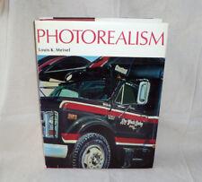 ~ PHOTOREALISM ~ coffee table art book ~ Louis K. Meisel 1989 ~ Chuck Close