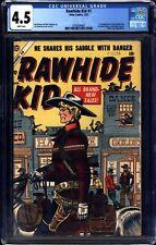 Rawhide Kid #1 CGC 4.5 Atlas 1955 1st App! Key Western! WHITE PAGES! M9 371 cm