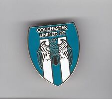 Colchester United -  lapel badge No.3 butterfly fitting