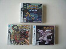 Nintendo DS Juegos De Pokemon. versión Platinum de misterio mazmorra,, versión de perlas.