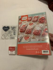 STAMPIN' UP! PAPER PUMPKIN - FILLED WITH LOVE - JANUARY 2015 - RETIRED